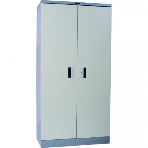 Шкаф металлический President CB02, 1830х917х457 мм, 3 полки, серый