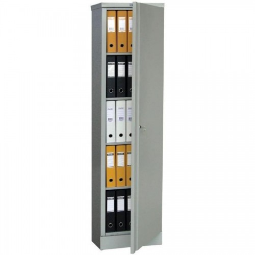 Шкаф металлический Практик АМ1845, 1830х458х458мм, 4 полки, серый