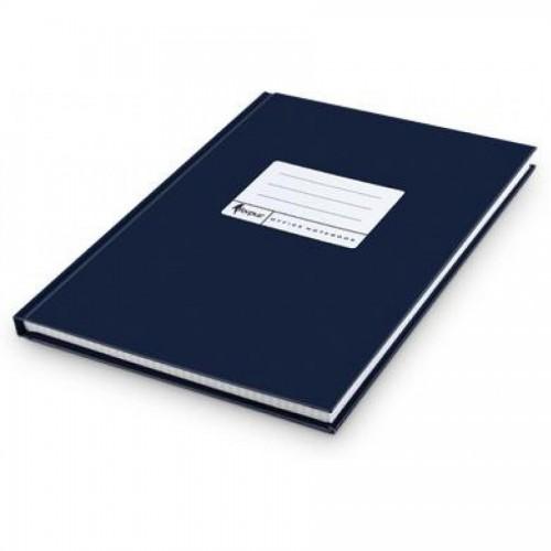 Книга учета А4, матовая обл. твердый переплет, 96 л., клетка, синяя