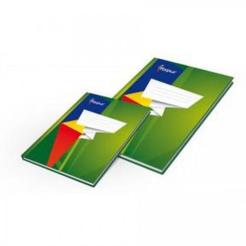 Книга учета А4, глянцевая обл. твердый переплет, 96 л., линейка