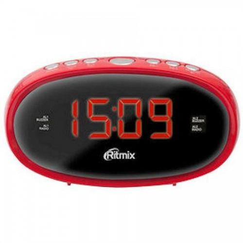 Радиочасы Ritmix RRC-616, зеленый корпус