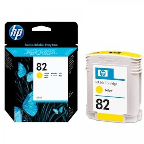 Картридж для DesignJet 510 HP №82 (CH568A), желтый