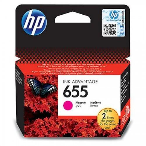 Картридж для струйн. прин. HP DJ IA 3525/4615/4625/5525/6525, CZ111AE, №655, пурпурный