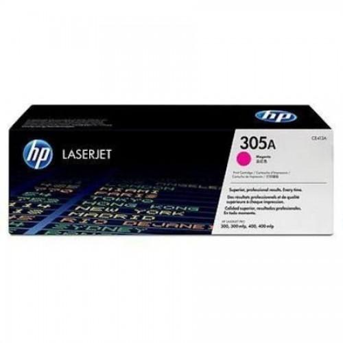 Картридж CE413A 305A для HP LaserJet Pro 300 Color M351/MFP M375/400 Color M451/MFP M475, пурпурный