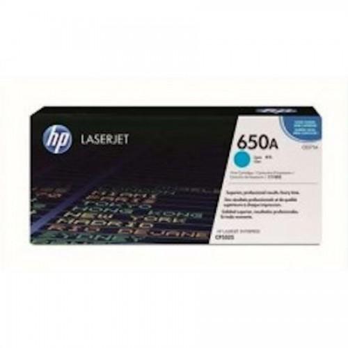 Картридж HP CE271A для HP Color LaserJet CP5525, голубой