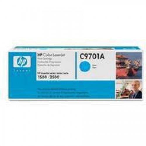 Картридж С9701А для лаз принт. HPLJ 1500/ 2500, голубой