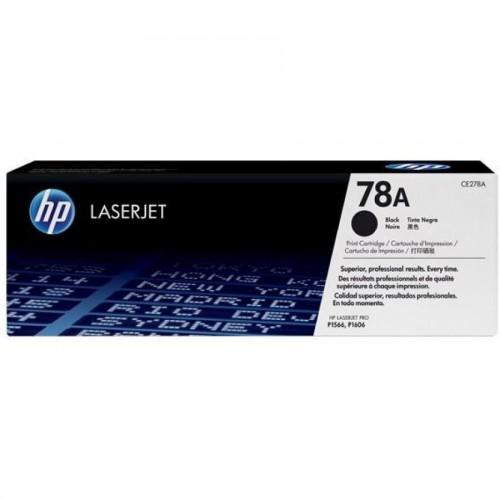 Картридж HP СE278A для HP LJ P1566/P1606, черный