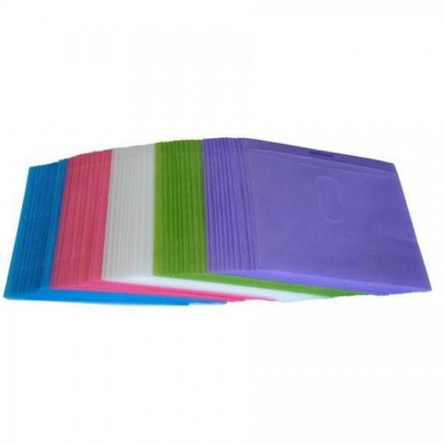 Конверт для диска пластиковый, цветной