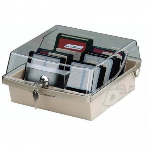Коробка для 80 дискет DiskFile 80 с ключом