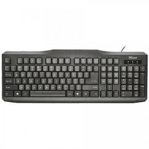 Клавиатура TRUST Classic Line, USB, черный (20517)