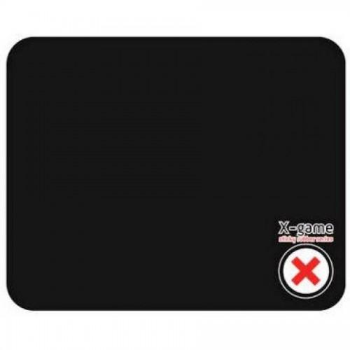Коврик для мыши X-Game SLKRUB BLACK силиконовый, 217х177х1 мм, черный
