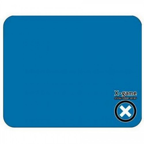 Коврик для мыши X-Game SLKRUB BLUE.P силиконовый, 217х177х1 мм, голубой