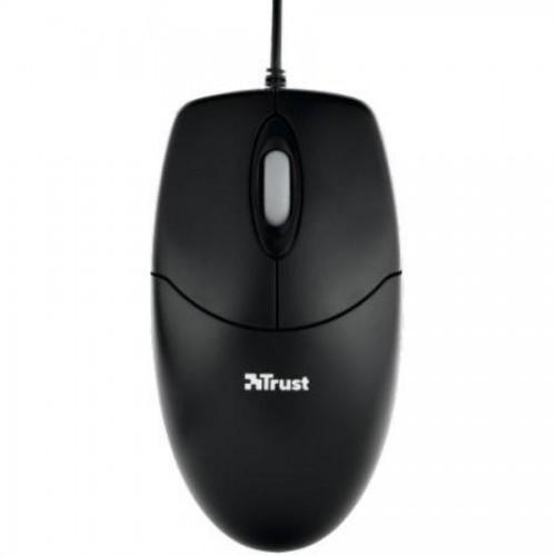 Мышь компьютерная TRUST Optical, USB, черный