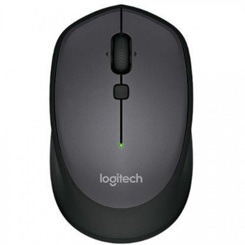 Мышь компьютерная беспроводная Logitech M335, Optical, USB, черный (910-004438)