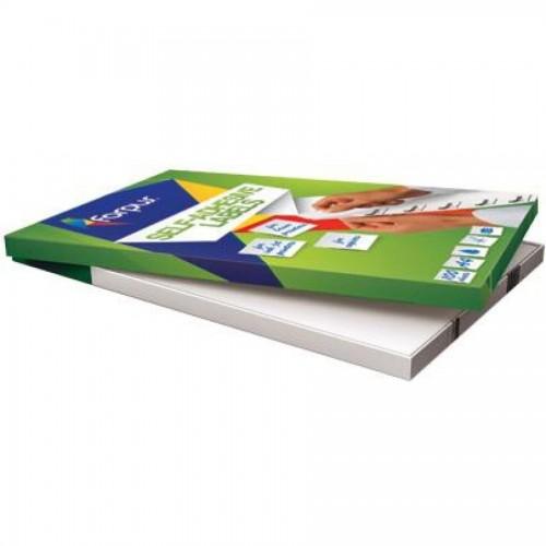 Наклейки А4, 63,5х46,6мм, 18/лист, 100 листов