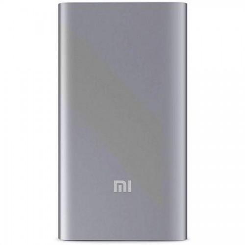 Зарядное устройство портативное Xiaomi Mi Power Bank 5000 mAh, USB, серебро