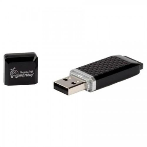 Флэш-накопитель Smartbuy Quartz Black, USB 2.0, 16 GB