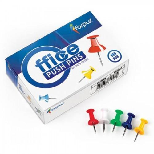 Кнопки-гвоздики для доски цвет.100шт