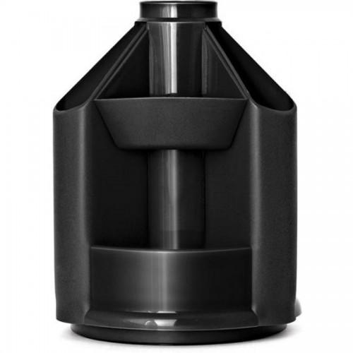 Органайзер настольный СТАММ ОР70 Mini desk, вращающийся, пустой, черный