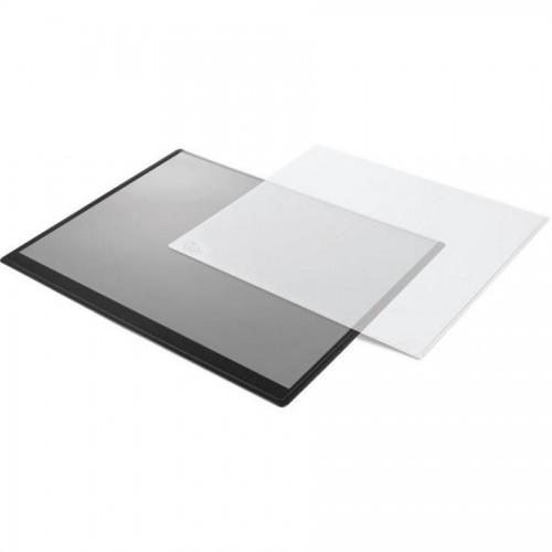 Подложка на стол с прозрачным покрытием 500х630 мм, черный