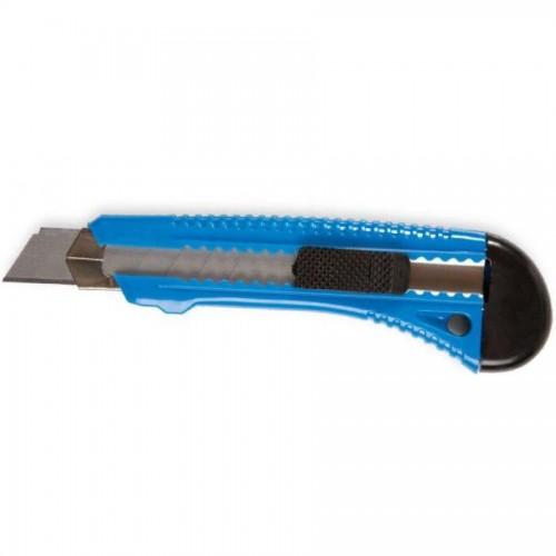 Нож канцелярский 18мм усиленный, ассорти