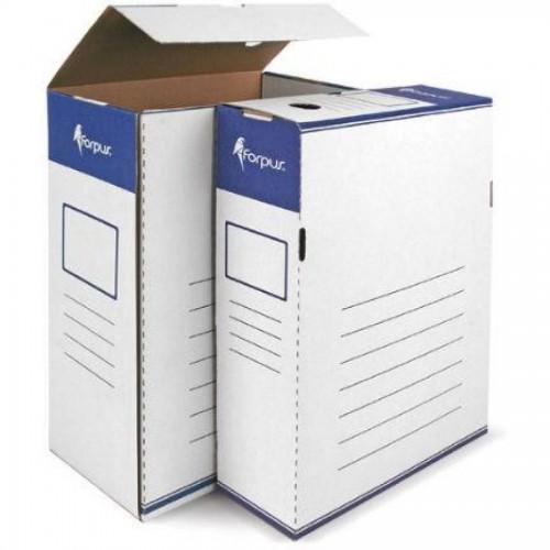 Коробка для документов А4, гофрокартон, 80мм