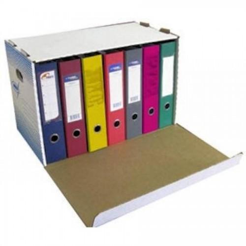 Коробка архивная KRIS АС-20, 530x338x306мм, с откидной крышкой, белый
