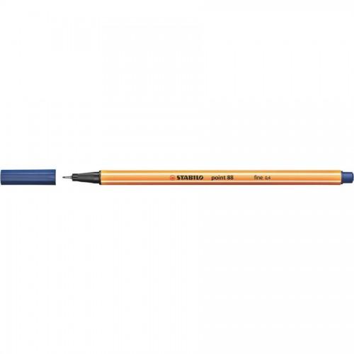 Ручка капилярная Stabilo point 88, 0,4 мм, синий (88/41)