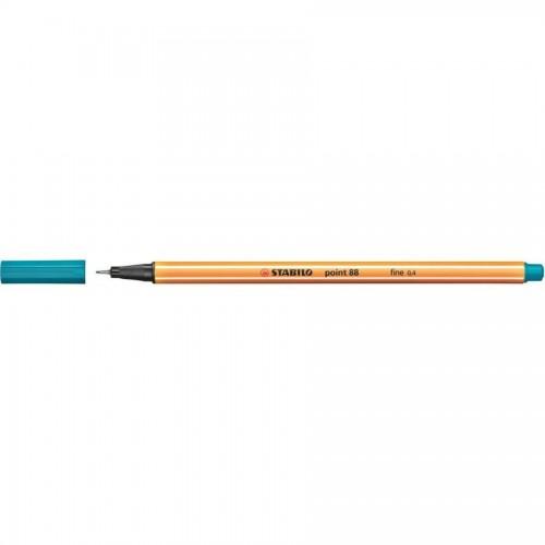 Ручка капилярная Stabilo point 88, 0,4 мм, бирюзовый (88/51)