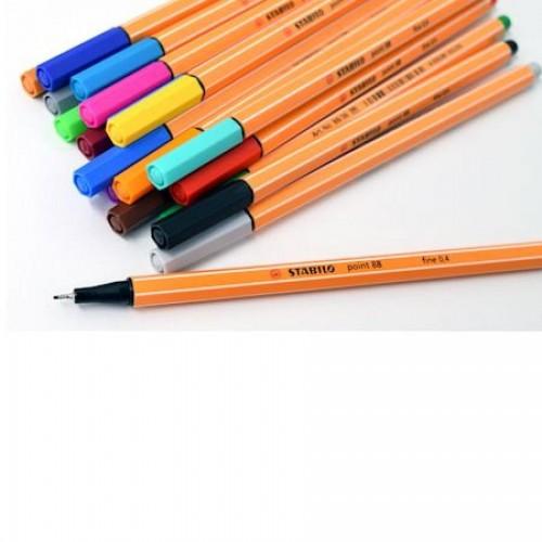 Ручка капилярная Stabilo point 88, 0,4 мм, лиловый (88/58)