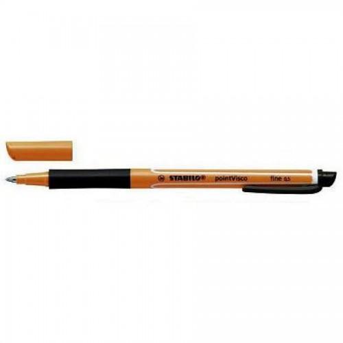 Ручка-роллер гелевая Stabilo Pointvisco 0,5мм, черный (1099/46)