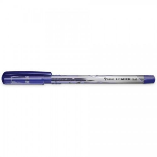 Ручка шариковая Forpus Leader, 0,38 мм, синий
