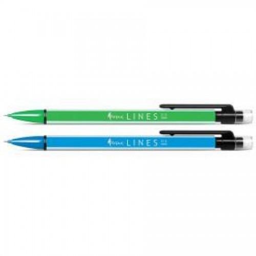 Механический карандаш Forpus LINES, 0,5 мм, зеленый корпус