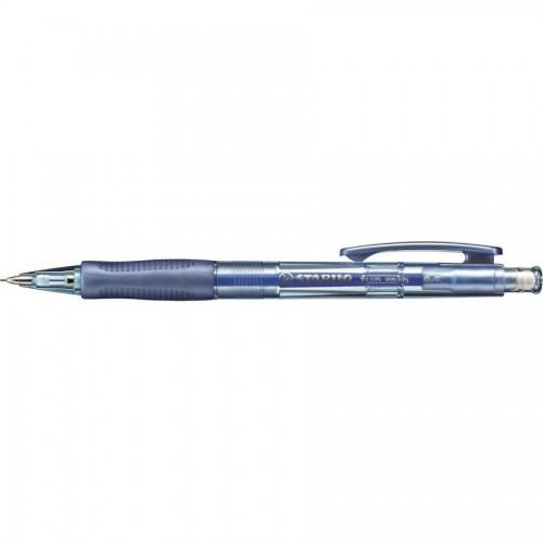 Механический карандаш Stabilo Fun Min, 0,5мм, синий корпус