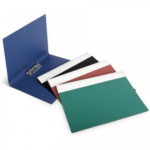 Папка для бумаг с прижимом ECO А4, синий
