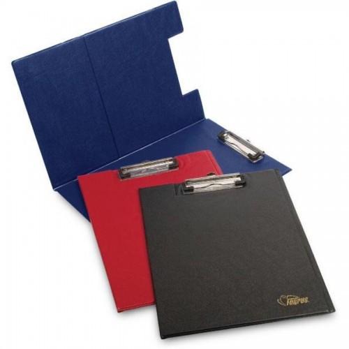 Папка-планшет с верхним прижимом А4, синий