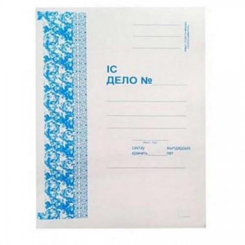 Папка-скоросшиватель картонная, мелованная