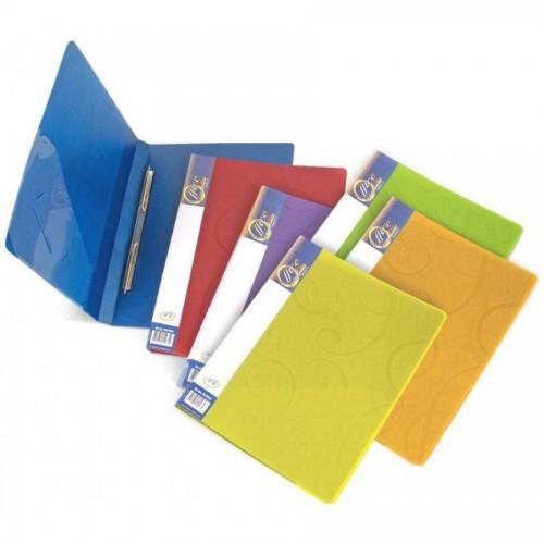 Папка для бумаг с пружинами РР А4, Barocco, синий