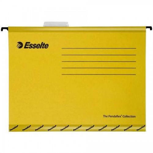 Папка подвесная Pendaflex, А4, желтый