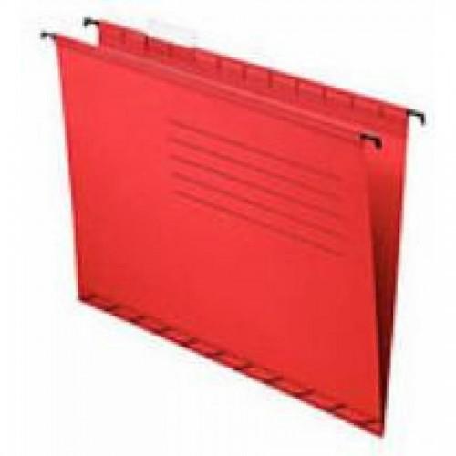 Папка подвесная для бумаг А4+, красный (091-387)