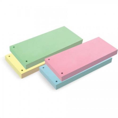 Разделители картонные, 10х24см, 100 шт/упак., желтый