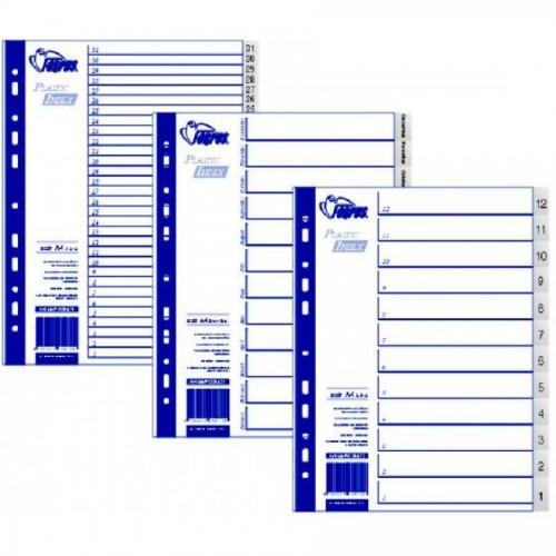 Разделители документов А4, 12-1 (обратные)