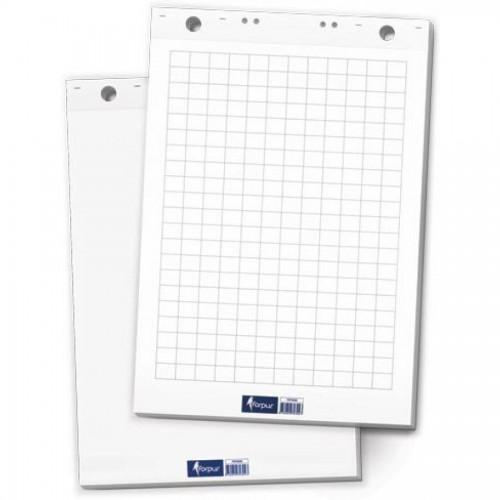 Блок бумаги flipchart, 60х85 см, 50листов, клетка
