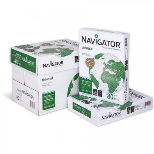 Бумага офисная Navigator Universal A4, 80г/м2, 500л, 297 мм х 210 мм, белая
