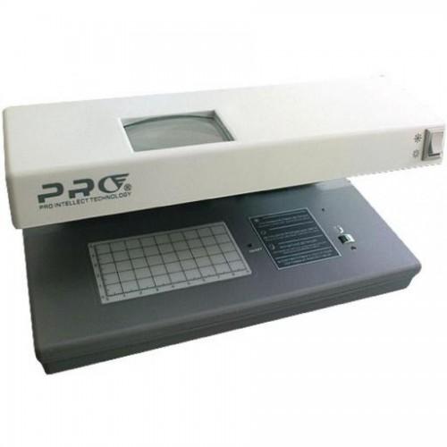 УФ-Детектор валют PRO-12 2 ультрафиол. лампы, 6Вт, серый 270х115х106 мм