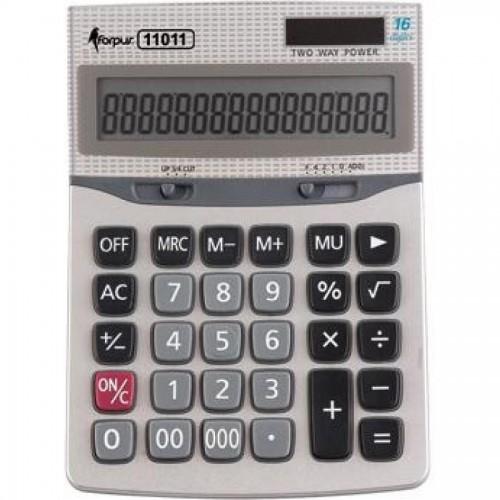 Калькулятор больш. бухг. 16 разр., двойн. питание (024-11011)