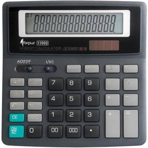 Калькулятор больш.14 разр.двойн. питание