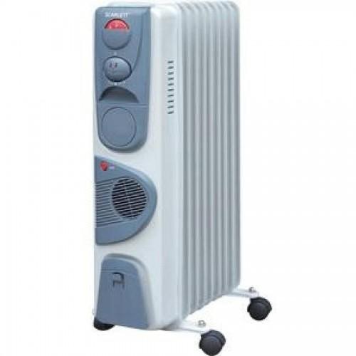 Масляный радиатор SC-1153 9 секций, тепловентилятор