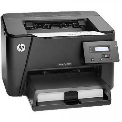 Принтер лазерный HP LaserJet Pro M201N (CF455A), ч/б, А4, 25 стр/мин