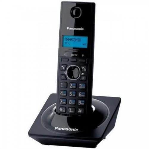 Радиотелефон DECT KX-TG1711 CAB, без автоответчика, черный